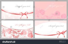 congratulatory cards congratulatory cards pink tones stock vector 43877185