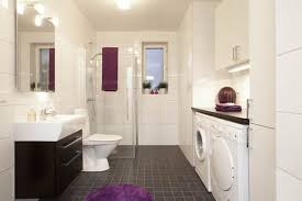 laundry in bathroom ideas combine bathroom laundry for extra space but washer dryer hidden