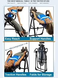 Inversion Table For Neck Pain by Teeter Ep 950 Inversion Table The Best Inversion Table