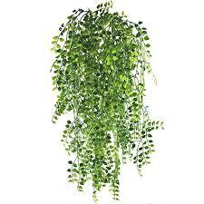 indoor vine plant hogado 2pcs artificial ivy fake hanging vine plants decor plastic