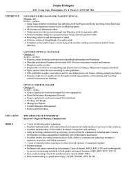 resume format administrative officers exams 4 driving lights optical manager resume sles velvet jobs