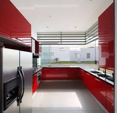 stylish u shaped kitchen design no island with modular hanging