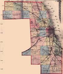 Illinois Road Map by Cook County Illinois Maps And Gazetteers