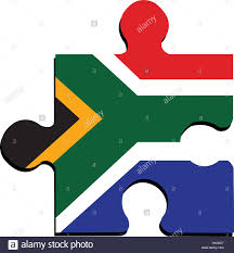African Flag Isolated South African Flag Stock Vector Art U0026 Illustration