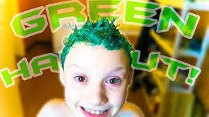 dylan shaircut dylan s green haircut youtube