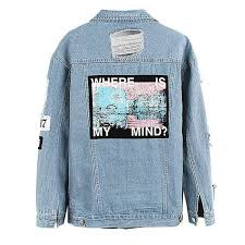 jean sweater jacket where is my mind denim jacket so aesthetic