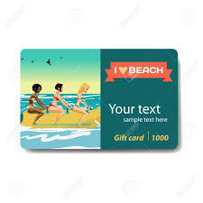 discount gift card women ride a banana design for sale discount gift card