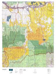 Colorado Elevation Map by Colorado Gmu 66 Map Mytopo