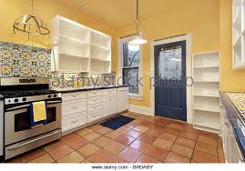 Kitchen Yellow Walls - kitchen house with walls stock photos u0026 kitchen house with walls