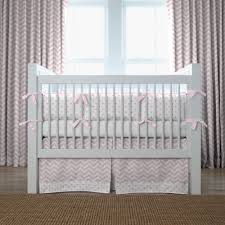 Nursery Bedding And Curtains White Wooden Baby Crib And Brown Rug On Ceramics Flooring Plus