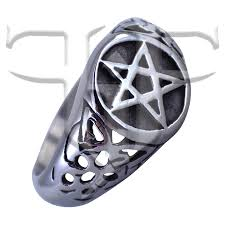 wiccan engagement rings pentacle celtic knot ring wicca wiccan magic band