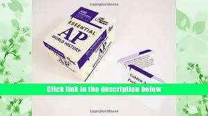 read online essential ap world history flashcards 450