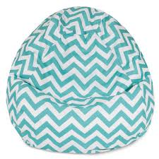 chevron bean bag chair color teal http delanico com bean bag