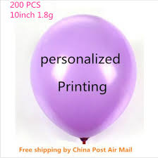 personalized gift for baby 200pcs custom balloon printing balloons advertisement promotion