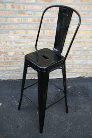 Industrial Counter Stools Tolix French Industrial Stool Tabouret Grand Dossier Barstool And