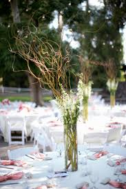 wedding reception centerpieces branches decorating party
