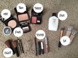 run sara run what u0027s in your makeup bag
