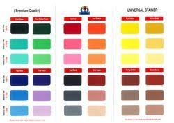 shade cards in delhi colour chart color chart manufacturers in