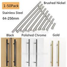 Bar Cabinet Pulls Brushed Nickel Cabinet Pulls Ebay