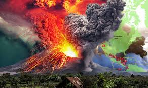 world s largest lava l ring of fire map where is the bali volcano terrifying chain of