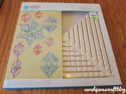 s craft paper triangle spiral ornament