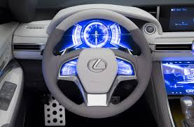 lexus yellow triangle light lexus lf c2 concept dazzles at the 2014 los angeles auto show with