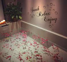 soak relax enjoy quotes wall stickers quotes wall decals