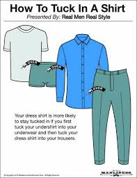 how and when to tuck in your shirt the art of manliness