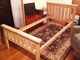 4 Foot Bed Frame Diy 2x4 Bed Frame Howtospecialist How To Build Step By Step