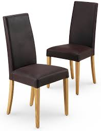 set of 2 alton brown leather dining chairs m u0026s