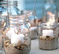 bocaux decoration cuisine deco petit pot en verre photophore bocal verre bougie mariage