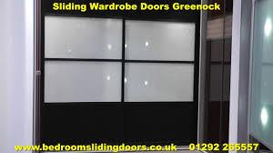 glass mirror wardrobe doors sliding wardrobe doors greenock and mirrored wardrobes greenock