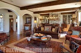 Living Room Ceiling Beams Ceiling Remodeling Tips With Timber Beams Faux Wood Workshop