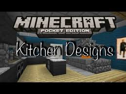 minecraft kitchen ideas minecraft pe kitchen designs