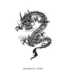 chinese dragon tattoo stock photos u0026 chinese dragon tattoo stock