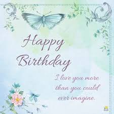 you dear birthday wishes for your