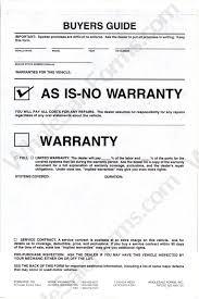 as is no warranty 3 part buyer u0027s guide plasticback bge 102