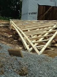 truss roof loft conversion 1 modern end terrace house youtube