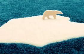 home eco awareness u0027global warming u0027 polar bear rug