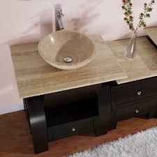 contemporary vessel sink vanity kallista 49 inches modern vessel sink bathroom vanity
