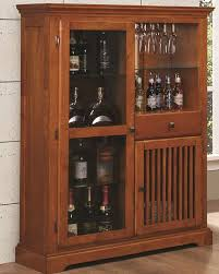 Mission Style Dining Room by Coaster Mission Style Bar Cabinet Marbrisa In Brown Co 100625