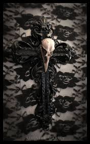 138 best gothic decor images on pinterest gothic home and gothic cross crow skull goth ornate wall cross decor