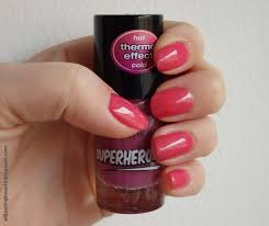 review essence le superheores thermo effect nail polish
