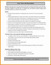 math tutor resume math tutor duties resume elioleracom tutor resume horsh beirut