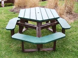 Octagon Patio Table Plans Bench Picnic Tables Lowes Picnic Table Diy Wooden