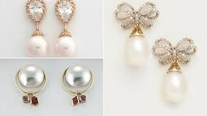 stylish gold earrings top stylish 1gram gold earrings designs pearl drop gold earrings