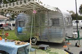 Camping Trailer Awnings Vintage Deville Trailer Vintage Trailer Awnings From Oldtrailer
