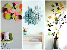 3d Wall Decor by Diy 3d Artistic Wall Decorations Foynd