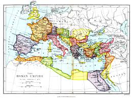 Rome World Map by Historical Maps By Chapter
