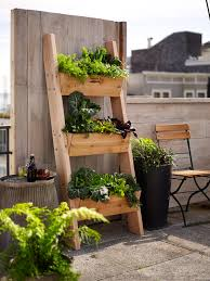 farmer d 3 tier vertical wall garden rustic ladder planting and